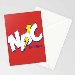 D20 NPC Energy Stationery Cards