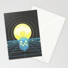Pac-Monster Stationery Cards