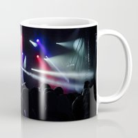 concert Mugs featuring CONCERT by Eclectic House Of Art