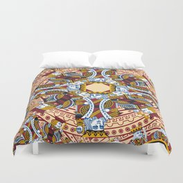 All the Kings Men Duvet Cover