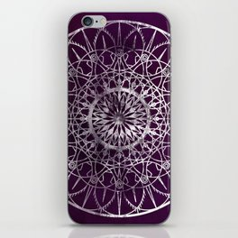 Fire Blossom - Violet iPhone Skin