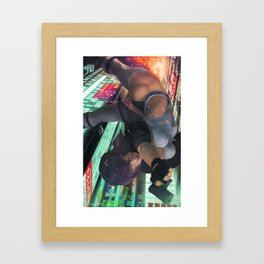 Motoko Kusanagi Framed Art Print