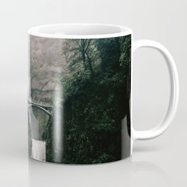 Multnomah Falls Waterfall in October - Landscape Photography Coffee Mug