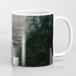 Multnomah Falls Waterfall in October - Landscape Photography Coffee Mug