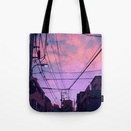 Anime Sunrise Tote Bag