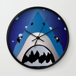 Shark Bait Wall Clock