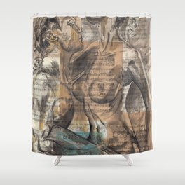 Here In My Arms Shower Curtain