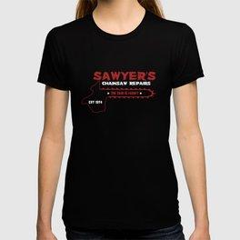 Sawyer's Chainsaw Repair T-shirt