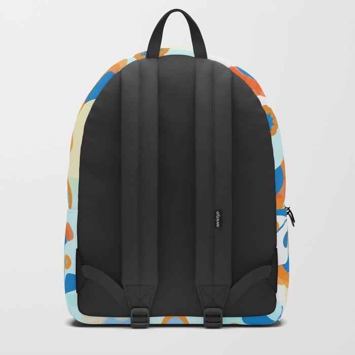 Calendula Pattern Backpack