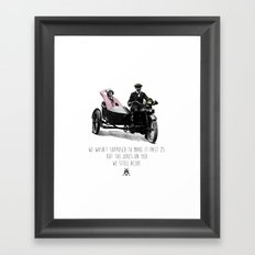 We Still Alive Framed Art Print
