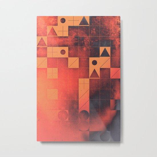 fyrge plyte Metal Print