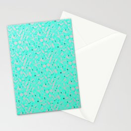 NSFW Aqua Kinky S&M Pattern Stationery Cards