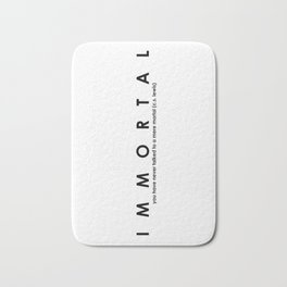 Immortal Bath Mat