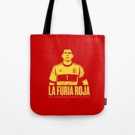 Euro 2016: Spain Tote Bag