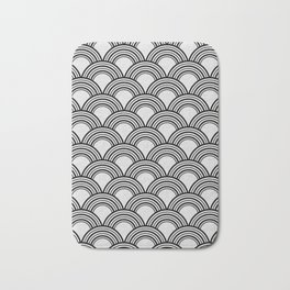 Art Deco - Shell Print Bath Mat