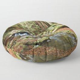 Crystal Stream Floor Pillow