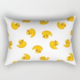 Rubber duck toy Rectangular Pillow
