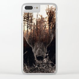 Raw Nature - Stian Norum collab Clear iPhone Case