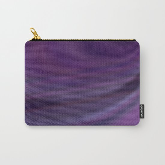 Purple abstract Carry-All Pouch