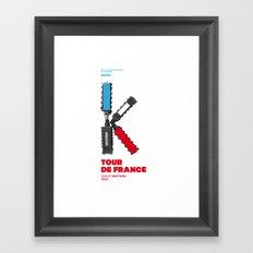 Bike to Life - Kraftwerk Framed Art Print