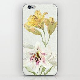 Lily meets Lilia iPhone Skin