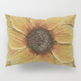 Sunflower painting 1 Pillow Sham