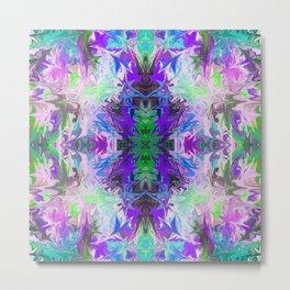 Abstract Kaleidoscope Mandala 757 Metal Print