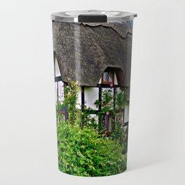 Quaint English Cottage Travel Mug