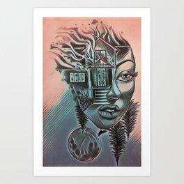 NBDisaster2 Art Print