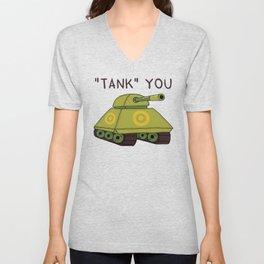 """Tank"" you Unisex V-Neck"