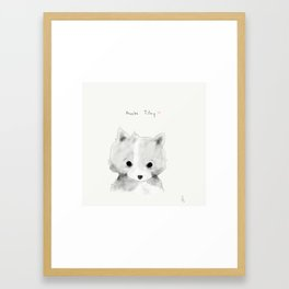 phoebe tilley Framed Art Print