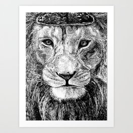 Strong Willed Art Print