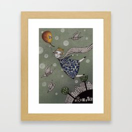 You can fly, Mary! Framed Art Print