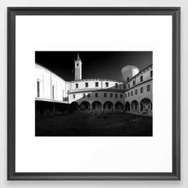 Chiostro Framed Art Print