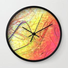 goodbye morning freestyle Wall Clock