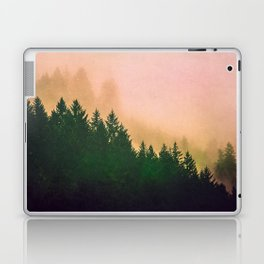 Cascadia Green Trees and Sunset Laptop & iPad Skin