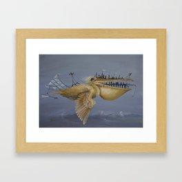 SkyCity Framed Art Print
