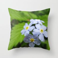 USA - MINNESOTA - Forget-me-nots  Throw Pillow