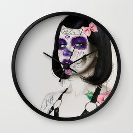 'Defy' Wall Clock