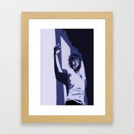 Sin in the dark Framed Art Print