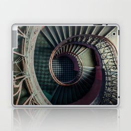 Art Deco spiral staircse Laptop & iPad Skin