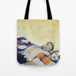 Meik Beach Date  Tote Bag
