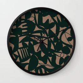 topsy turvy Wall Clock