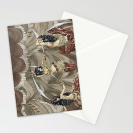 Midnight Circus: Sword Dancers Stationery Cards