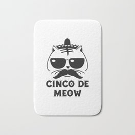 Cinco De Meow Bath Mat
