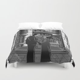The Monster's bride. Duvet Cover