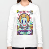 bugs Long Sleeve T-shirts featuring Bugs Budha by Andon Georgiev