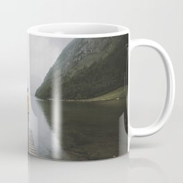 Mountain Lake Vibes - Landscape Photography Coffee Mug