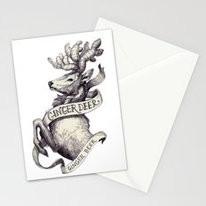 Ginger Deer Stationery Cards