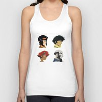 bebop Tank Tops featuring Cowboy Bebop - Bounty Days by Bounty Days